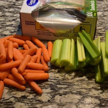 Carrots and Cucumber Meal Prep